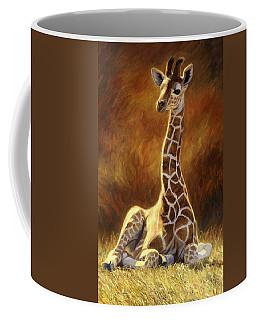 Baby Giraffe Coffee Mug