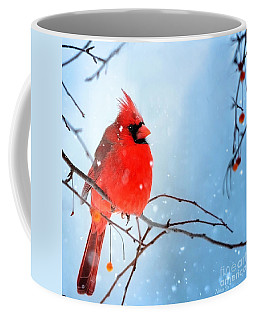 Coffee Mug featuring the photograph Baby It's Cold Outside by Nava Thompson