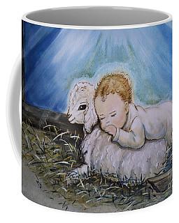 Baby Jesus Little Lamb Coffee Mug