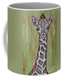 Baby Longneck Giraffe Coffee Mug by Ella Kaye Dickey