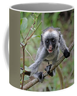 Baby Red Colobus Monkey Coffee Mug