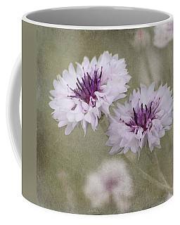 Coffee Mug featuring the photograph Bachelor Buttons - Flowers by Kim Hojnacki