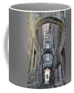 Back Alley Coffee Mug by Michelle Meenawong