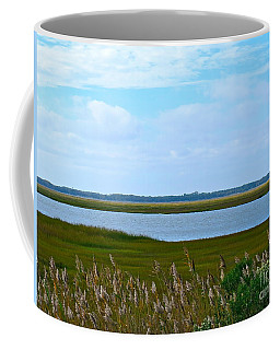 Back Bay In Sea Isle  Coffee Mug by Nancy Patterson