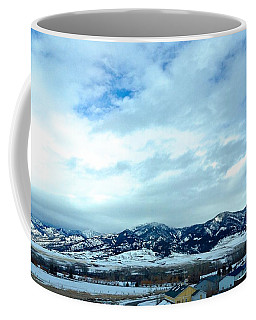 Back In Bozeman Coffee Mug by M West