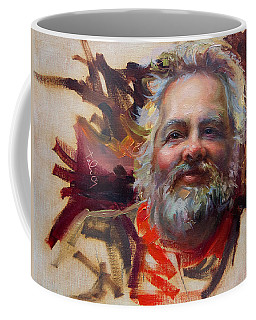 Coffee Mug featuring the painting Back In Town by Talya Johnson
