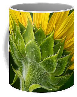 Back Of Sunflower Coffee Mug