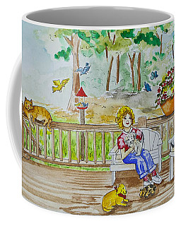 Back Porch Coffee Mug