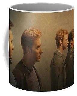 Back Stage With Nsync Coffee Mug by David Dehner