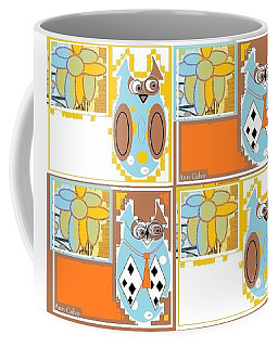 Back To School Owl Coffee Mug