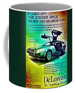 Back To The Delorean Coffee Mug