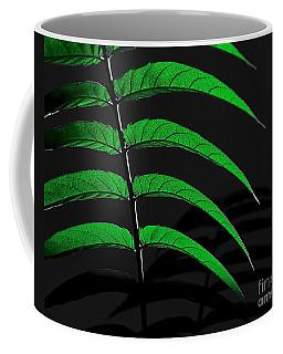 Backyard Abstract Coffee Mug