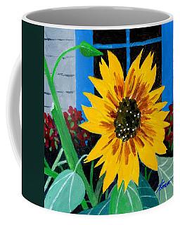 Backyard Flowers  Coffee Mug
