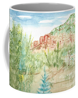 Backyard Sedona Coffee Mug