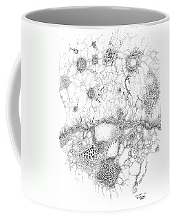 Bacteriophage Ballet Coffee Mug by Regina Valluzzi
