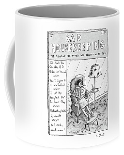 Bad Housekeeping The Magazine For Women  Who Coffee Mug