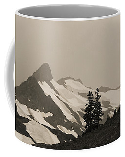 Fog In Mountains Coffee Mug