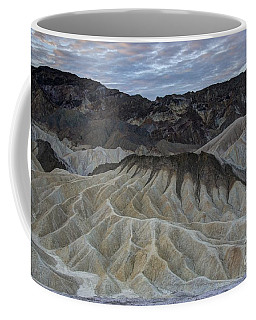 Badlands At Sunrise. Death Valley Coffee Mug