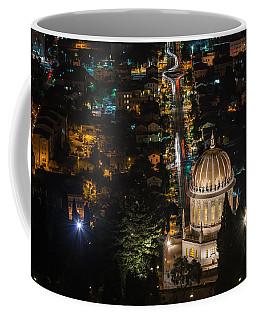 Baha'i Temple At Night Coffee Mug