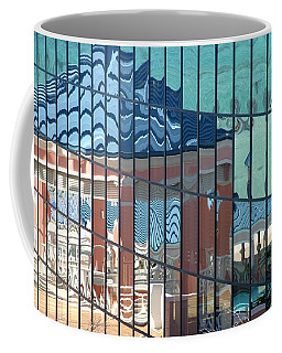 Coffee Mug featuring the photograph Bahamas Beach Pavilion by Rick Locke