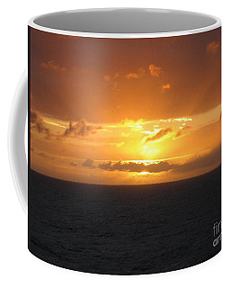 Coffee Mug featuring the photograph Bahamas Ocean Sunset by John Telfer