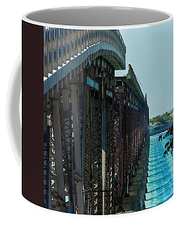 Bahia Honda Bridge Patterns Coffee Mug