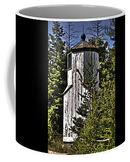 Coffee Mug featuring the photograph Baileys Harbor Range Lighthouse by Deborah Klubertanz