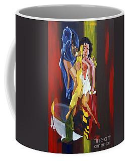 Jeunes Amoureux Se Baignant Coffee Mug