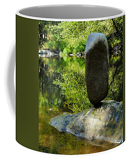 Balanced Reflections Coffee Mug by Peter Mooyman