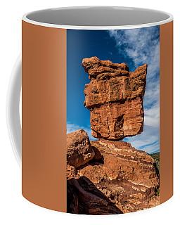 Balanced Rock Garden Of The Gods Coffee Mug by Paul Freidlund