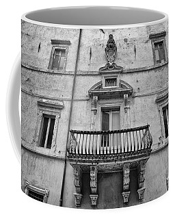 Balcony In Assisi Coffee Mug