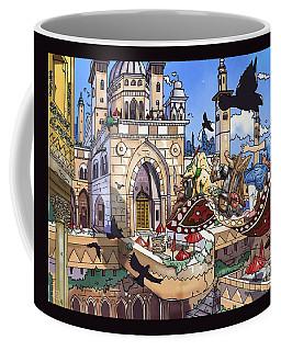 Balcony Of Princess Jasmine Coffee Mug by Reynold Jay