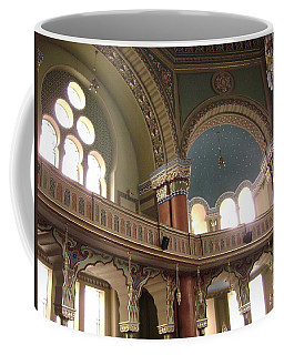 Balcony Of Sofia Synagogue Coffee Mug