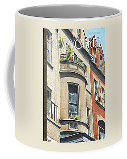 Balcony Scene Coffee Mug