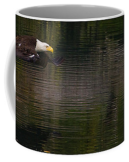 Coffee Mug featuring the photograph Bald Eagle #1307 by J L Woody Wooden
