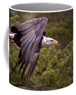 Coffee Mug featuring the photograph Bald Eagle   #6865 by J L Woody Wooden