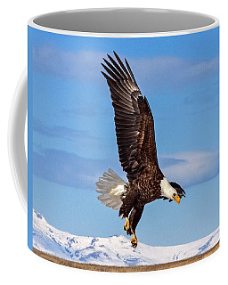 Bald Eagle Comming Down Coffee Mug