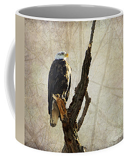 Bald Eagle Keeping Watch In Illinois Coffee Mug
