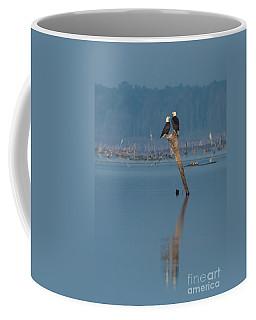 Bald Eagle Pair Coffee Mug by Paul Rebmann