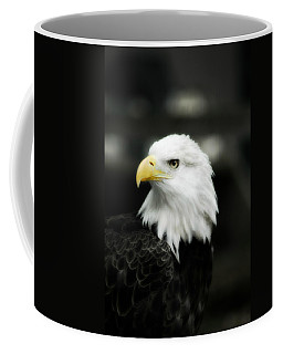 Coffee Mug featuring the photograph Bald Eagle by Peggy Franz