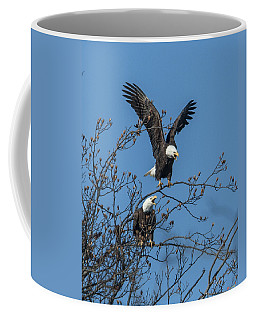 Bald Eagles Screaming Drb169 Coffee Mug