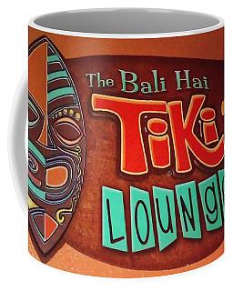 Bali Hai Tiki Lounge Pontchartrain Beach Coffee Mug by Deborah Lacoste