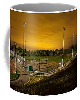 Ball Field At Night Coffee Mug