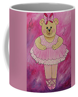 Ballerina Bear In Pink Coffee Mug