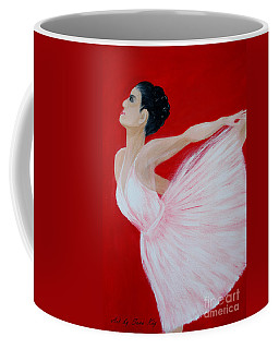 Ballerina.  Grace. Inspirations Collection Coffee Mug