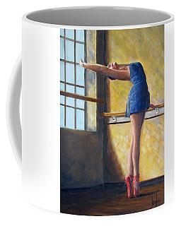 Ballet Dancer Warm Up Coffee Mug
