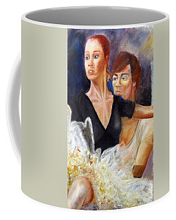 Ballet Dancers Rehearse For La Bayadere Coffee Mug