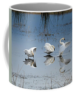Dance Of The Trumpeters Coffee Mug