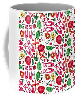 Ballet Scribble Fleur Coffee Mug