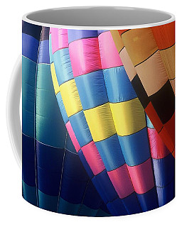 Coffee Mug featuring the photograph Balloon Patterns by Rodney Lee Williams